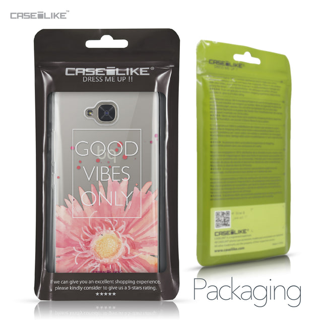 BQ Aquaris U2 / U2 Lite case Gerbera 2258 Retail Packaging | CASEiLIKE.com