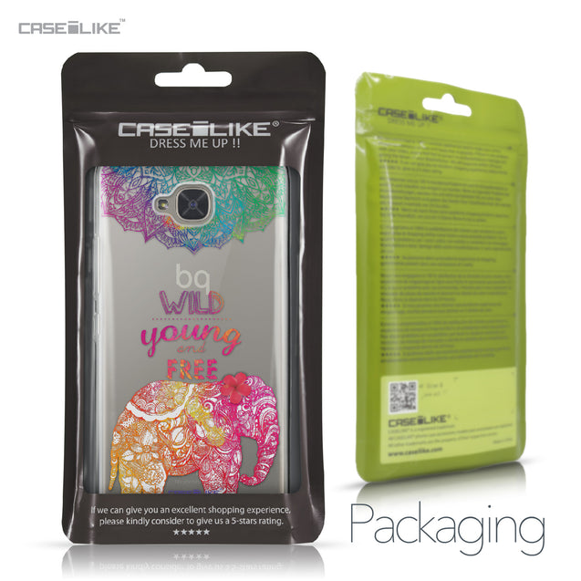 BQ Aquaris U2 / U2 Lite case Mandala Art 2302 Retail Packaging | CASEiLIKE.com