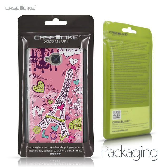 BQ Aquaris U2 / U2 Lite case Paris Holiday 3905 Retail Packaging | CASEiLIKE.com