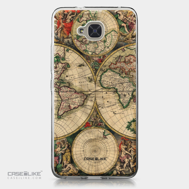 BQ Aquaris U2 / U2 Lite case World Map Vintage 4607 | CASEiLIKE.com
