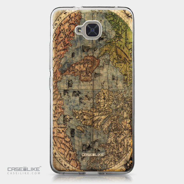 BQ Aquaris U2 / U2 Lite case World Map Vintage 4608 | CASEiLIKE.com