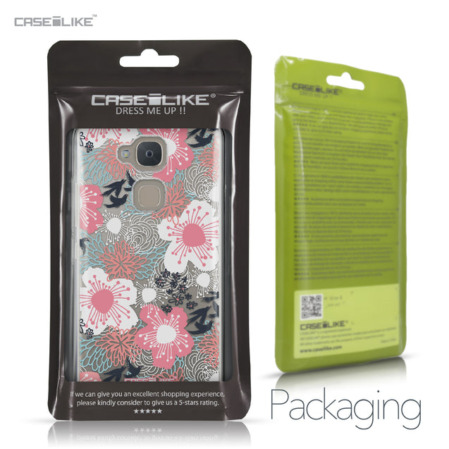 BQ Aquaris V case Japanese Floral 2255 Retail Packaging | CASEiLIKE.com
