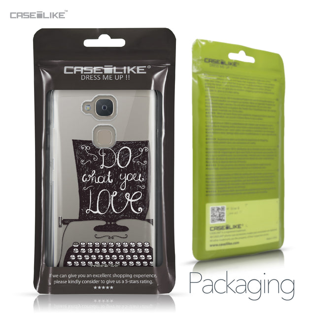 BQ Aquaris V case Quote 2400 Retail Packaging | CASEiLIKE.com