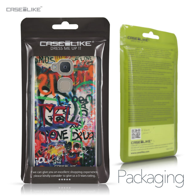 BQ Aquaris V case Graffiti 2721 Retail Packaging | CASEiLIKE.com