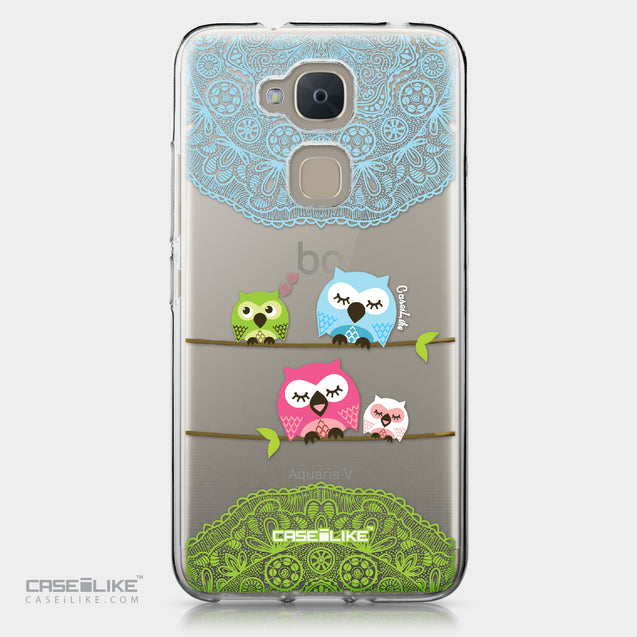 BQ Aquaris V case Owl Graphic Design 3318 | CASEiLIKE.com