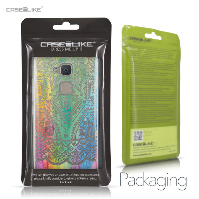 BQ Aquaris V Plus case Indian Line Art 2064 Retail Packaging | CASEiLIKE.com