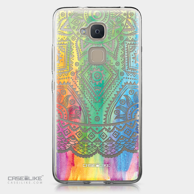 BQ Aquaris V Plus case Indian Line Art 2064 | CASEiLIKE.com