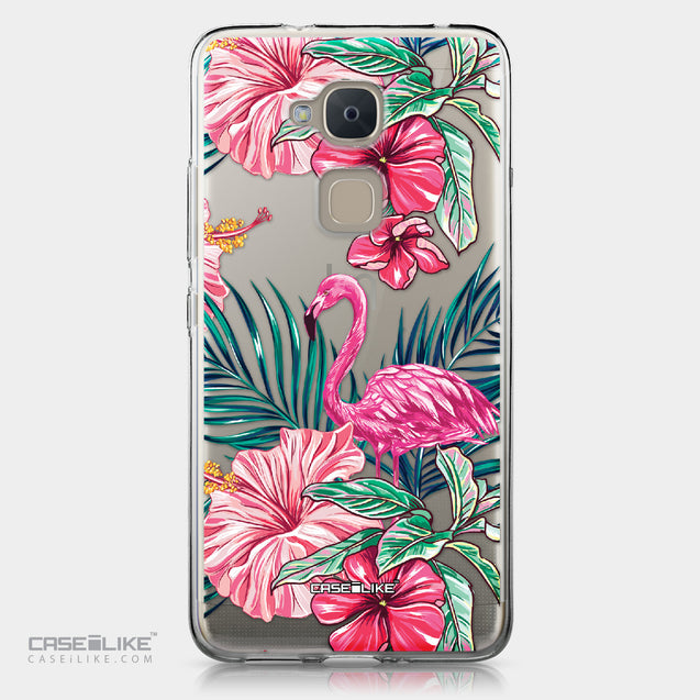 BQ Aquaris V Plus case Tropical Flamingo 2239 | CASEiLIKE.com