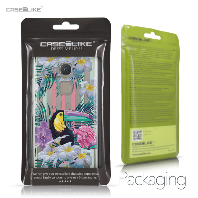 BQ Aquaris V Plus case Tropical Floral 2240 Retail Packaging | CASEiLIKE.com