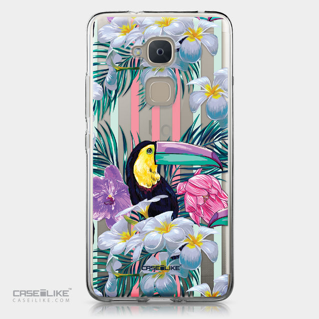 BQ Aquaris V Plus case Tropical Floral 2240 | CASEiLIKE.com