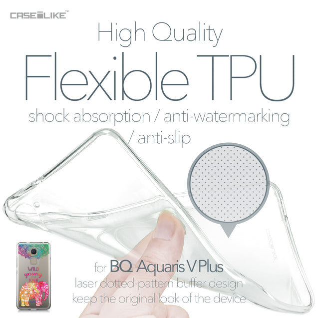 BQ Aquaris V Plus case Mandala Art 2302 Soft Gel Silicone Case | CASEiLIKE.com