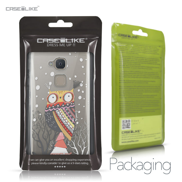 BQ Aquaris V Plus case Owl Graphic Design 3317 Retail Packaging | CASEiLIKE.com