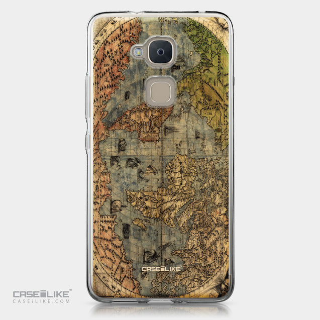 BQ Aquaris V Plus case World Map Vintage 4608 | CASEiLIKE.com