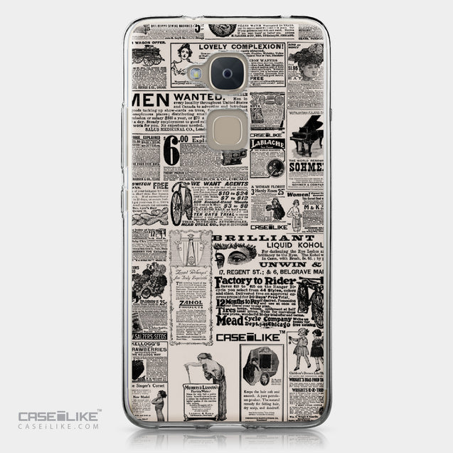 BQ Aquaris V Plus case Vintage Newspaper Advertising 4818 | CASEiLIKE.com