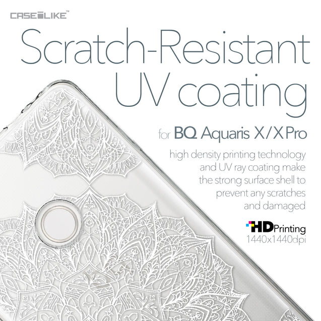 BQ Aquaris X / X Pro case Mandala Art 2091 with UV-Coating Scratch-Resistant Case | CASEiLIKE.com