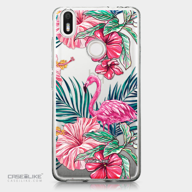 BQ Aquaris X / X Pro case Tropical Flamingo 2239 | CASEiLIKE.com