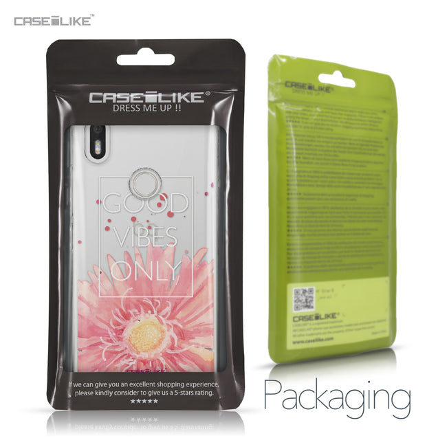 BQ Aquaris X / X Pro case Gerbera 2258 Retail Packaging | CASEiLIKE.com