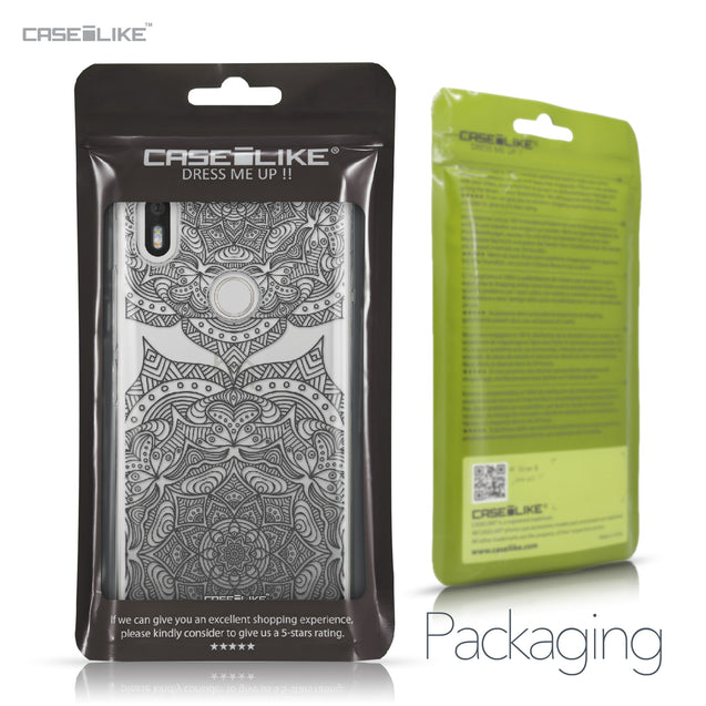 BQ Aquaris X / X Pro case Mandala Art 2304 Retail Packaging | CASEiLIKE.com