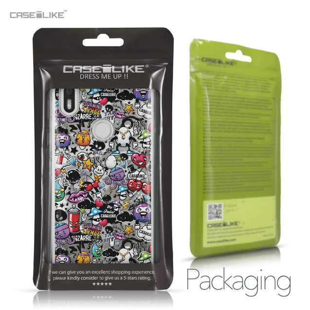 BQ Aquaris X / X Pro case Graffiti 2703 Retail Packaging | CASEiLIKE.com