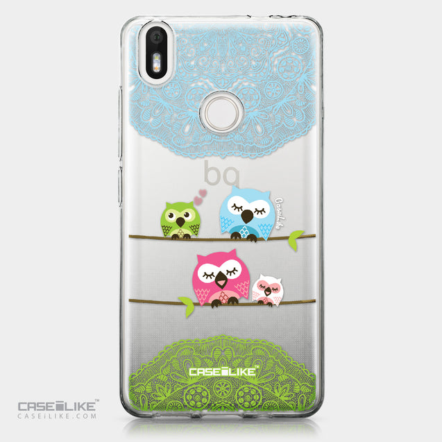 BQ Aquaris X / X Pro case Owl Graphic Design 3318 | CASEiLIKE.com