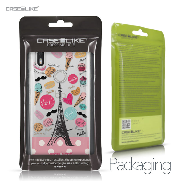 BQ Aquaris X / X Pro case Paris Holiday 3904 Retail Packaging | CASEiLIKE.com