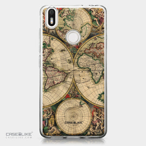 BQ Aquaris X / X Pro case World Map Vintage 4607 | CASEiLIKE.com