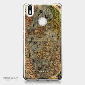 BQ Aquaris X / X Pro case World Map Vintage 4608 | CASEiLIKE.com
