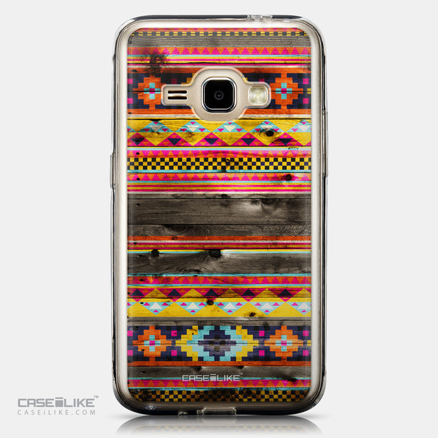 CASEiLIKE Samsung Galaxy J1 (2016) back cover Indian Tribal Theme Pattern 2048