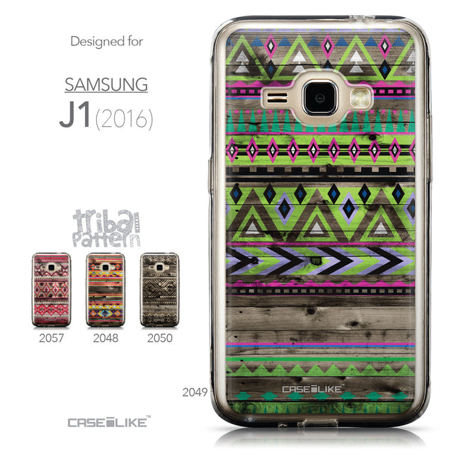 Collection - CASEiLIKE Samsung Galaxy J1 (2016) back cover Indian Tribal Theme Pattern 2049