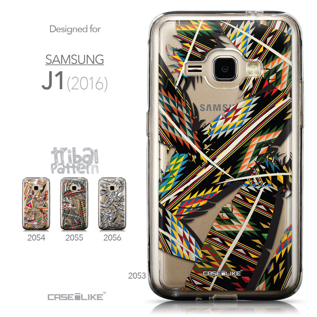 Collection - CASEiLIKE Samsung Galaxy J1 (2016) back cover Indian Tribal Theme Pattern 2053