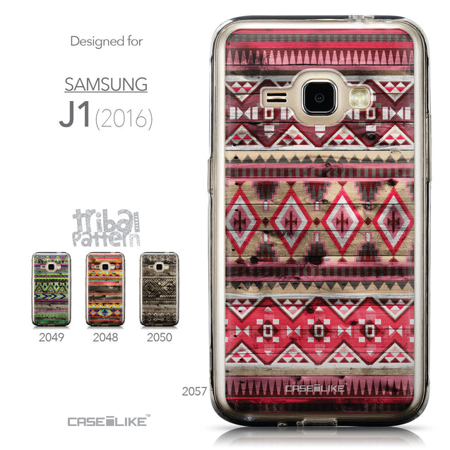 Collection - CASEiLIKE Samsung Galaxy J1 (2016) back cover Indian Tribal Theme Pattern 2057