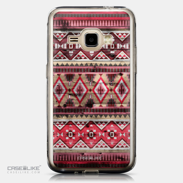 CASEiLIKE Samsung Galaxy J1 (2016) back cover Indian Tribal Theme Pattern 2057