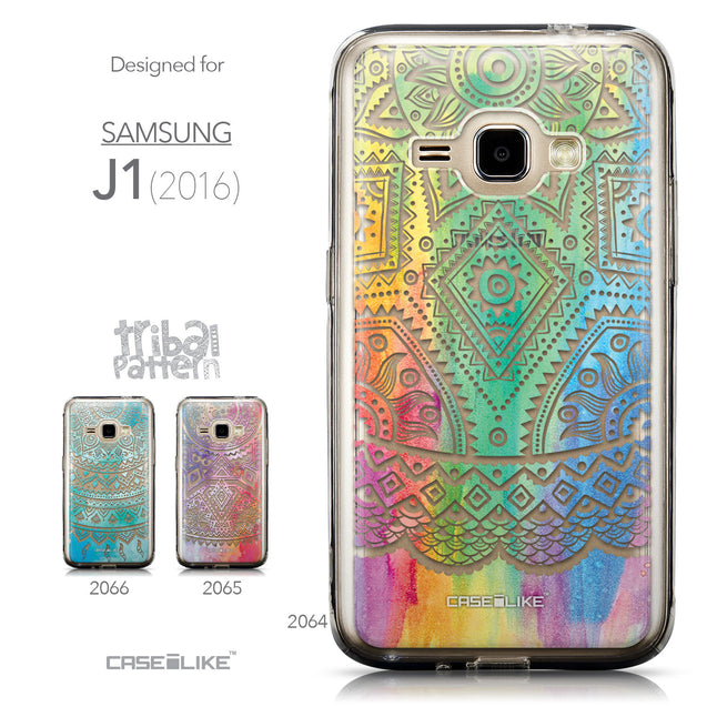 Collection - CASEiLIKE Samsung Galaxy J1 (2016) back cover Indian Line Art 2064