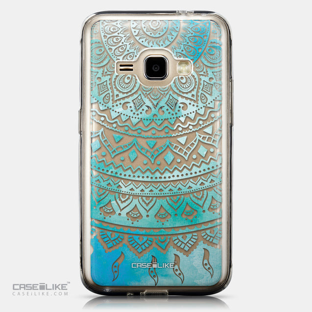 CASEiLIKE Samsung Galaxy J1 (2016) back cover Indian Line Art 2066