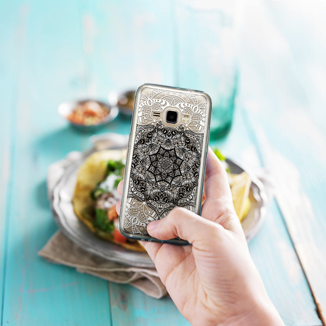 Share - CASEiLIKE Samsung Galaxy J1 (2016) back cover Mandala Art 2097