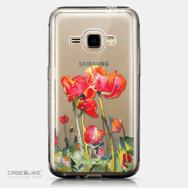 CASEiLIKE Samsung Galaxy J1 (2016) back cover Watercolor Floral 2230