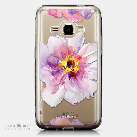 CASEiLIKE Samsung Galaxy J1 (2016) back cover Watercolor Floral 2231