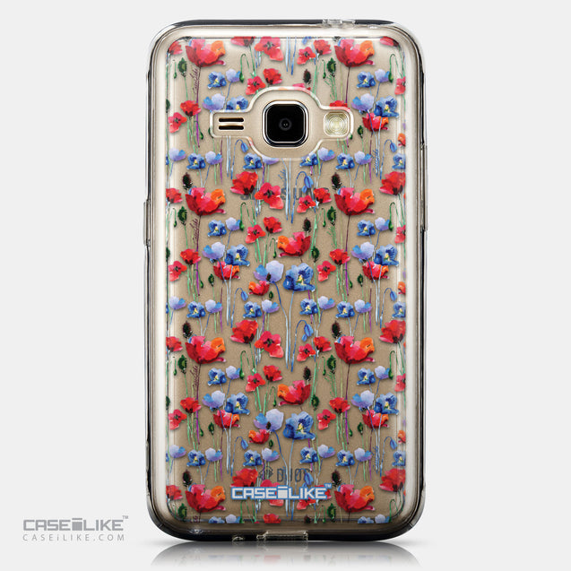 CASEiLIKE Samsung Galaxy J1 (2016) back cover Watercolor Floral 2233