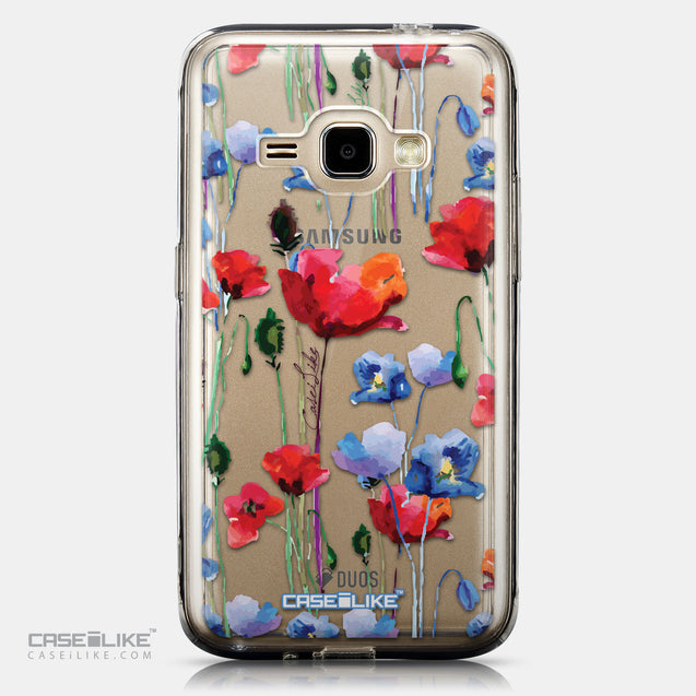 CASEiLIKE Samsung Galaxy J1 (2016) back cover Watercolor Floral 2234