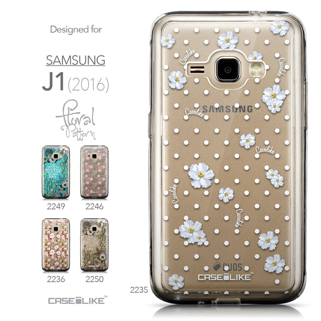 Collection - CASEiLIKE Samsung Galaxy J1 (2016) back cover Indian Line Art 2061