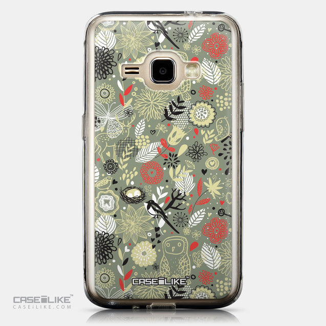 CASEiLIKE Samsung Galaxy J1 (2016) back cover Spring Forest Gray 2243