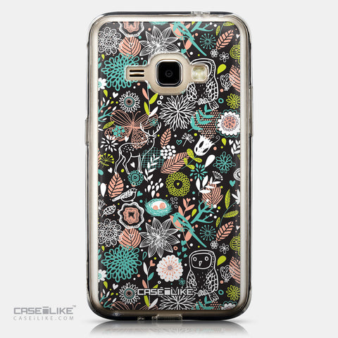 CASEiLIKE Samsung Galaxy J1 (2016) back cover Spring Forest Black 2244