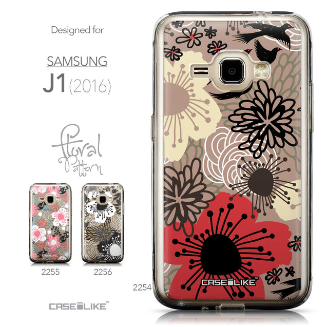 Collection - CASEiLIKE Samsung Galaxy J1 (2016) back cover Japanese Floral 2254