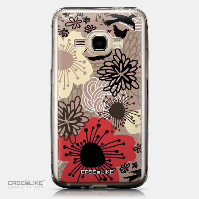 CASEiLIKE Samsung Galaxy J1 (2016) back cover Japanese Floral 2254