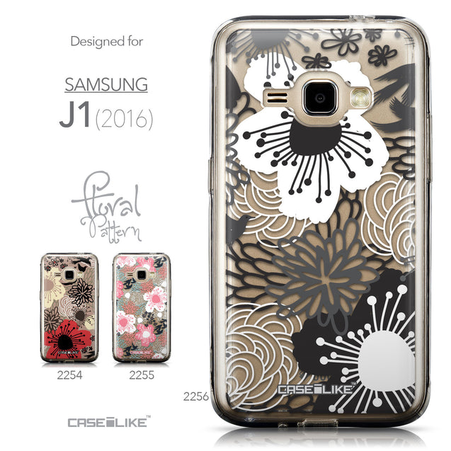 Collection - CASEiLIKE Samsung Galaxy J1 (2016) back cover Japanese Floral 2256