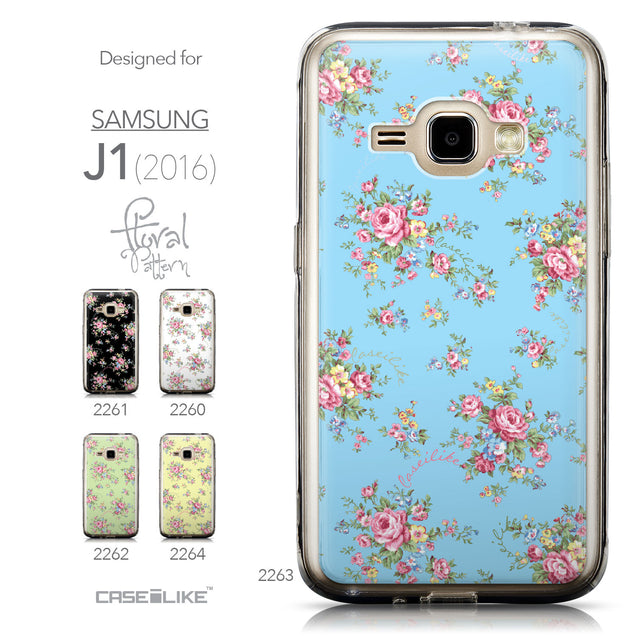 Collection - CASEiLIKE Samsung Galaxy J1 (2016) back cover Floral Rose Classic 2263