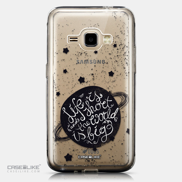 CASEiLIKE Samsung Galaxy J1 (2016) back cover Quote 2401