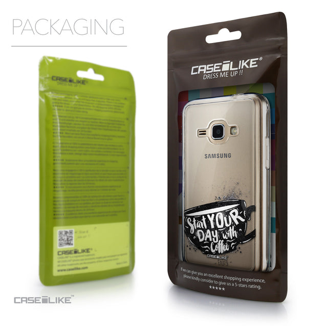 Packaging - CASEiLIKE Samsung Galaxy J1 (2016) back cover Quote 2402