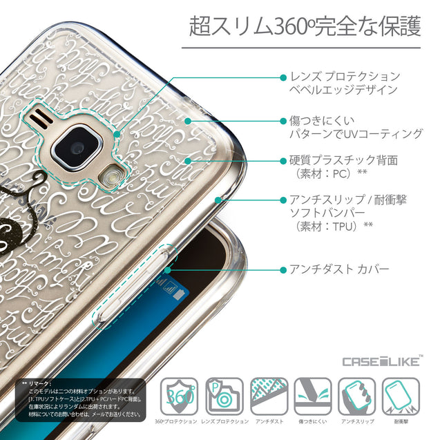 Details in Japanese - CASEiLIKE Samsung Galaxy J1 (2016) back cover Indian Tribal Theme Pattern 2053