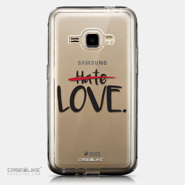 CASEiLIKE Samsung Galaxy J1 (2016) back cover Quote 2406